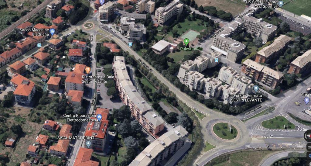 Sestri Levante grande appartamento in ordinato condomino